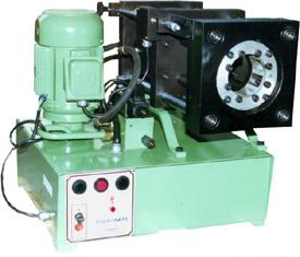 maquina de prensar terminais